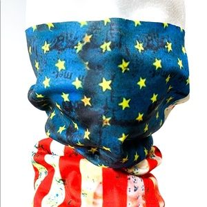 American Flag Rustic Tone Independence Day Gaiter
